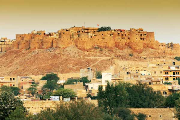 Forts and towers in Jaisalmer